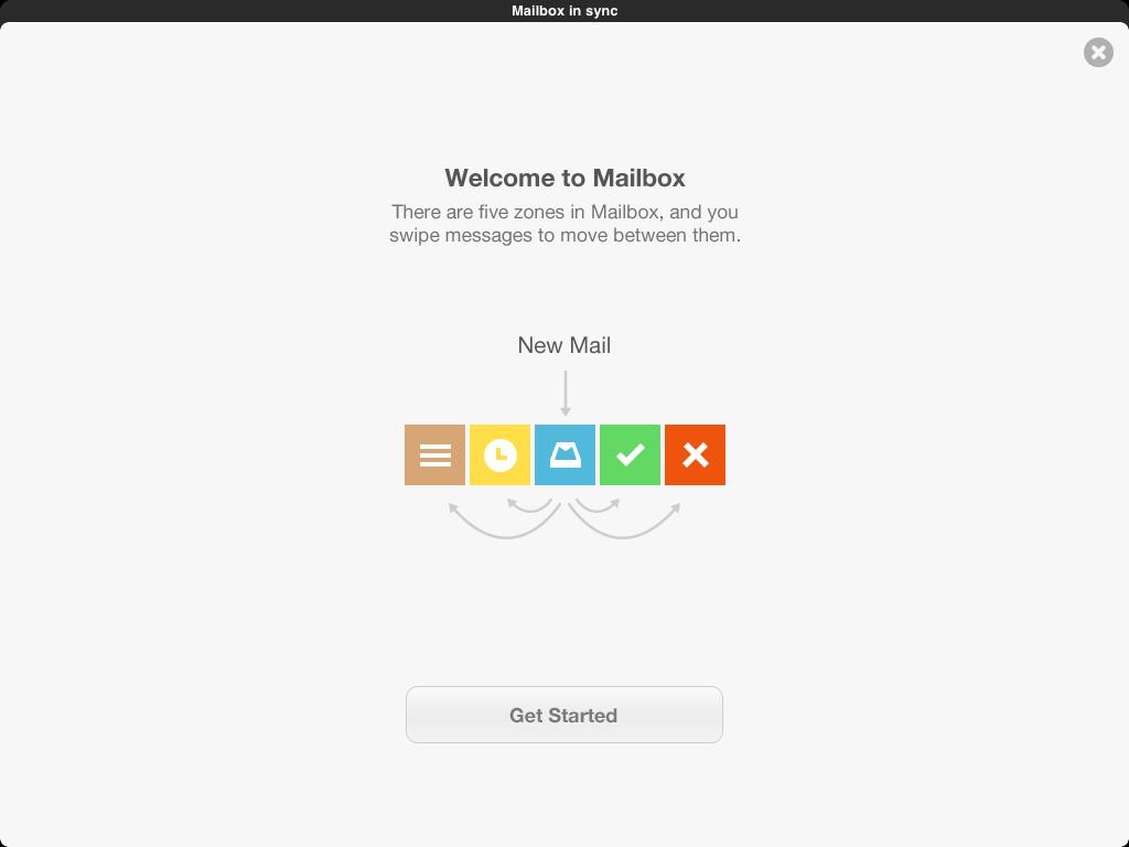 Вышел Mailbox для iPad