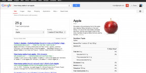 Google теперь умеет выводить данные о 1000+ продуктах питания