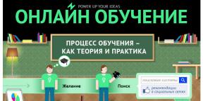 ИНФОГРАФИКА: Как работает онлайн-обучение?