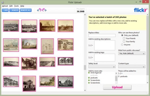 Flickr Uploadr