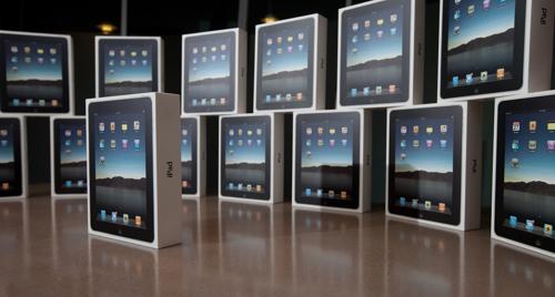 Впервые зафиксировано снижение объема поставок iPad