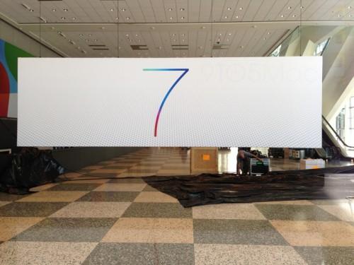 Официальный логотип iOS 7 засветился в Moscone Center