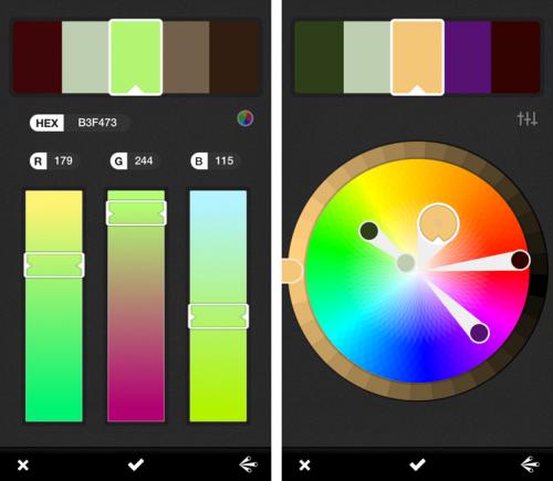 Adobe выпустила приложение Kuler для iOS