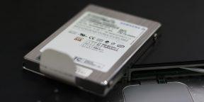 Вещи, которые не нужно делать с твердотельным накопителем (SSD)