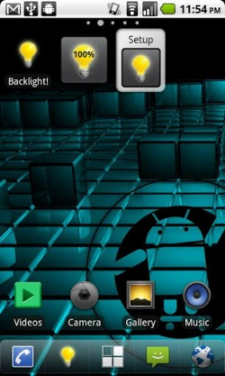 Backlight! Widget