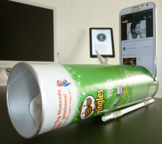 Smartphone-Pringles-Speakers