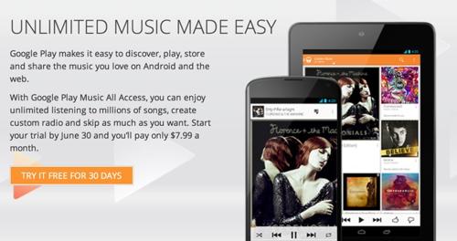 Google Play Music All Access скоро придёт на iOS