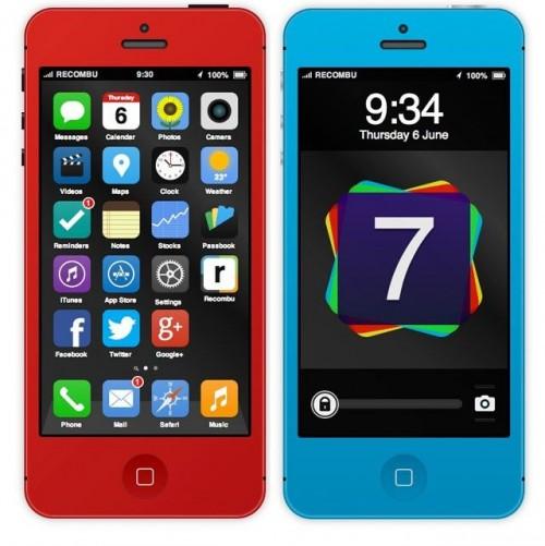 В сети появился интерактивный концепт - плоской - iOS 7