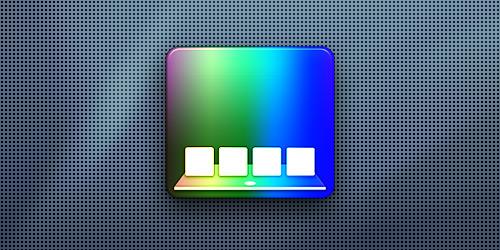 Как изменить цвет индикатора на панели Dock в OS X