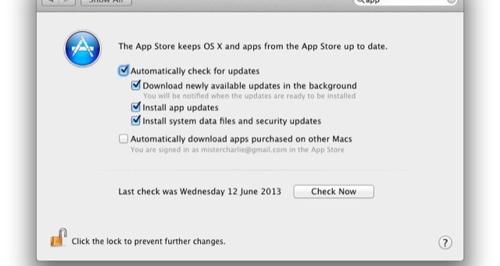 Автоматически обновлять приложения сможет не только iOS 7, но и OS X Mavericks