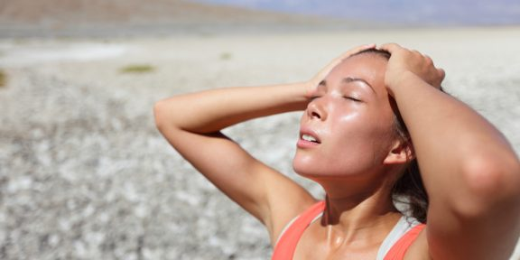 Как бегать по жаре