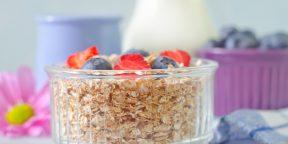 РЕЦЕПТ: Гранола - завтрак для бегуна