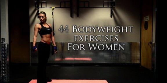 44 упражнения для всего тела без дополнительного веса для женщин