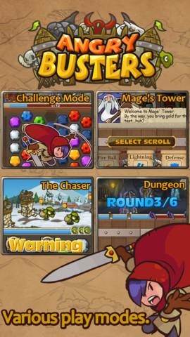 Angry Busters: «Шарики» на новый лад