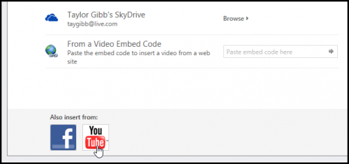 Как вставить видео с YouTube в презентацию, сделанную в Power Point (Office 2021)