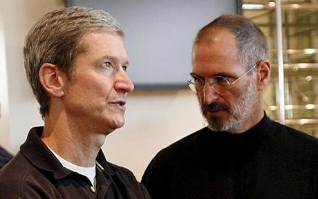 FILE USA APPLE STEVE JOBS TIM COOK
