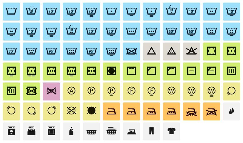 Что значат символы на ярлыках одежды - Лайфхакер aee22415b8511