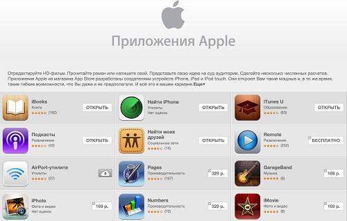 Apple обновила свои мобильные приложения