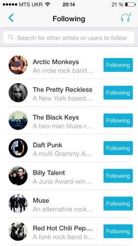 Обновленный Discovr - теперь это музыкальная социальная сеть