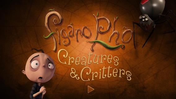 Figaro Pho - Creatures & Critters: в духе мультиков Тима Бертона