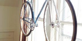 Как сделать «вешалку» для хранения велосипеда