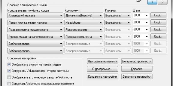 Volumouse - самый удобный способ регулировки громкости в Windows