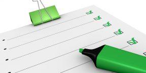 Ваш список дел - альтернативная реальность или настоящие планы?