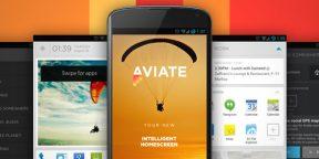 Aviate Beta - революционный лаунчер для Android (+ инвайты)