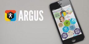 Argus - статистика всей активности в вашем кармане
