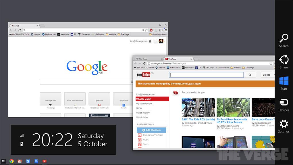 ChromeOS ? Windows