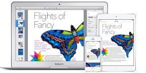 Apple анонсировал новый iWork — документы, электронные таблицы и презентации