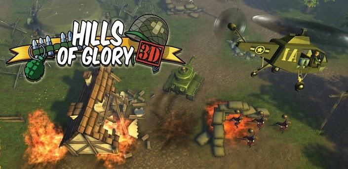 Hills of Glory 3D: масштабные боевые действия
