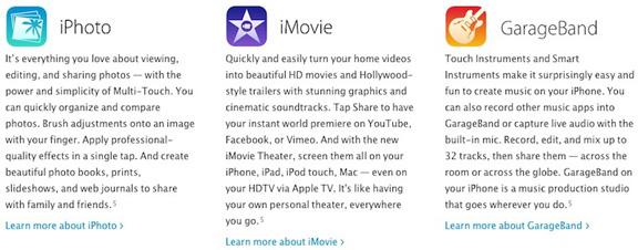 Apple «засветила» iWork и iLife для iOS 7