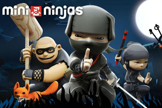 Mini Ninjas: бравые маленькие вояки