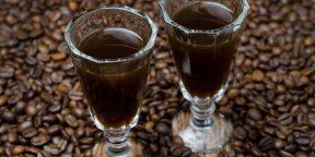 Готовим ликер из растворимого кофе, водки и коньяка
