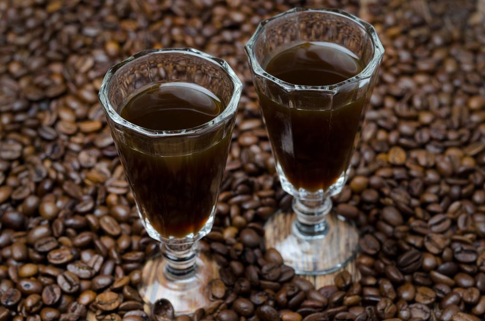 как приготовить ликёр из водки и кофе