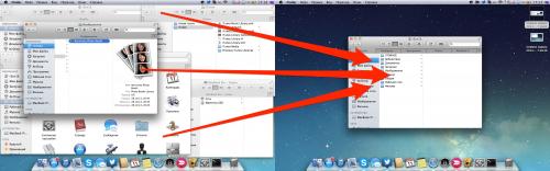 Как объединить все открытые окна Finder в единое окно с несколькими вкладками