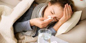 ИНФОГРАФИКА: Что важно знать о простуде