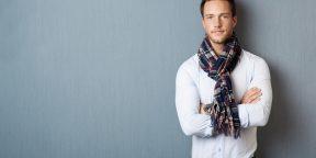 6 способов завязывать шарф. Руководство для джентльменов