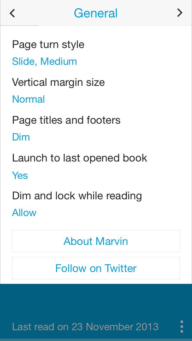 Marvin - идеальная читалка для iOS
