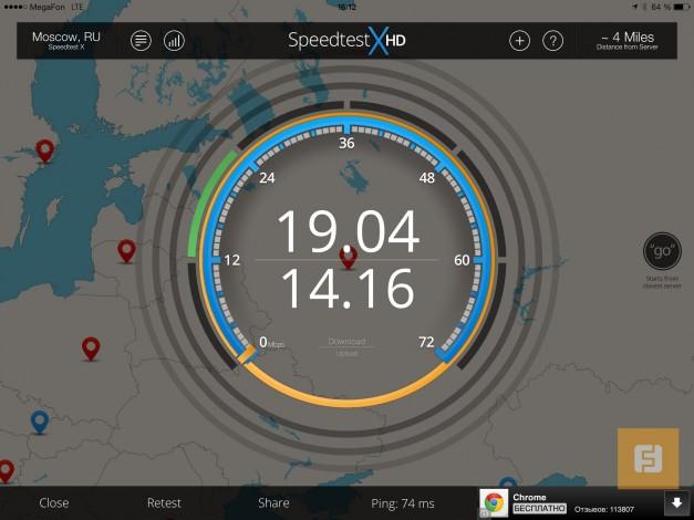 Новый iPad Air работает в российских LTE-сетях