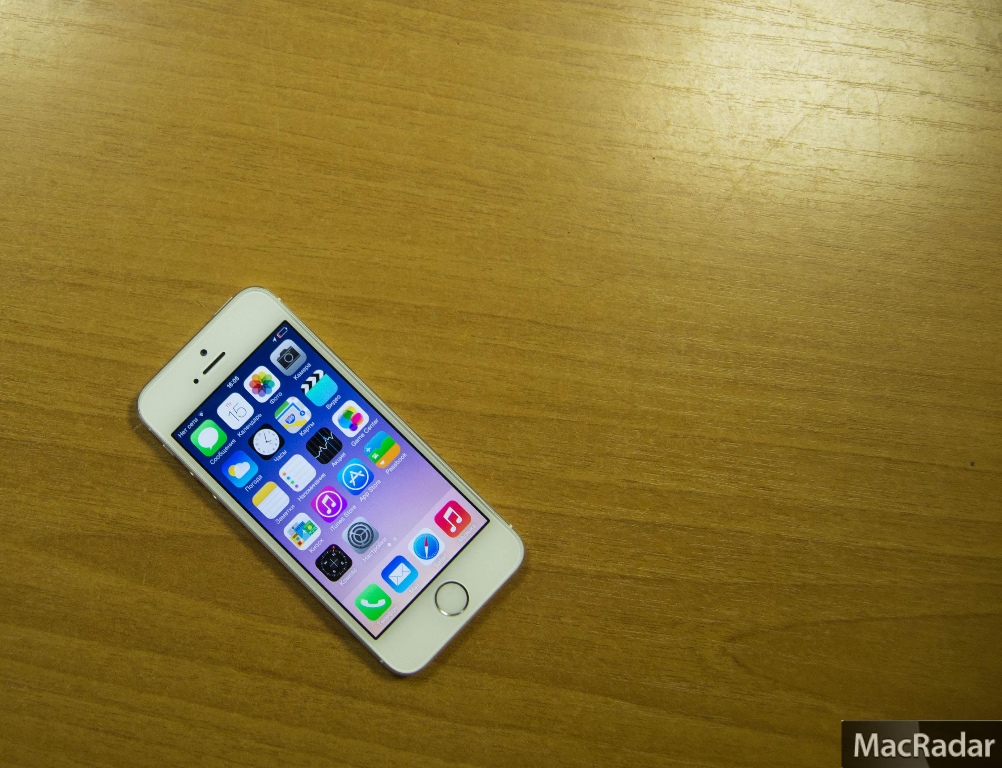 фото айфона золотого 5 s