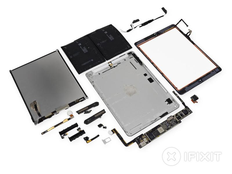 iFixit полностью разобрали новый iPad Air (фото)