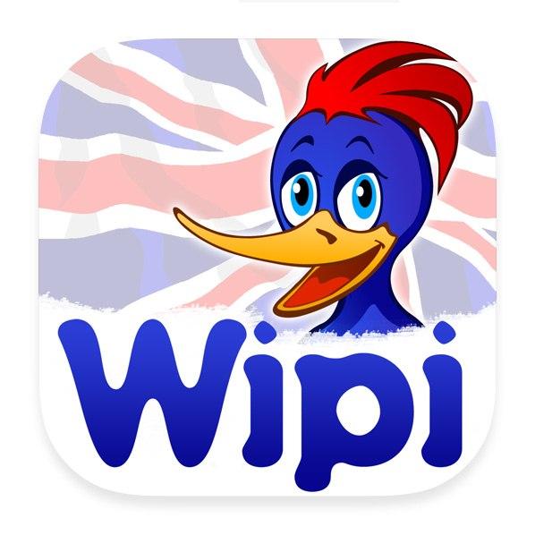 Приложение Wipi: увлекательная игра в «выучи английский»