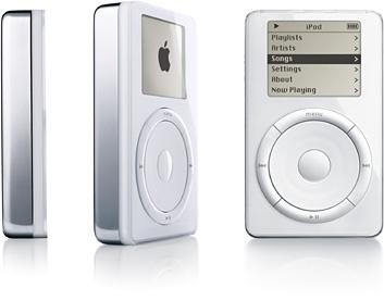 12 лет назад начались продажи первых iPod