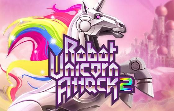 Robot Unicorn Attack 2: робот-единорог возвращается