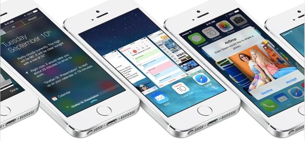 iOS 7 работает на 74% совместимых устройств
