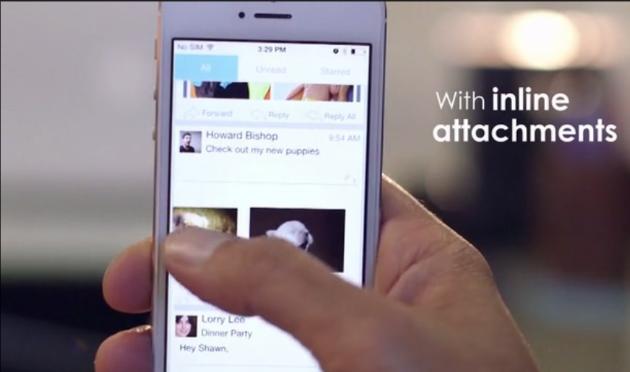 Inbox Cube для iPhone позволяет легко и удобно работать с электронной почтой
