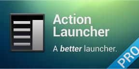 Action Launcher - лаунчер, который пытается отличаться