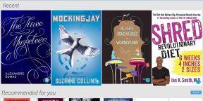 Google Play Books позволяет загружать свои книги в формате EPUB и PDF